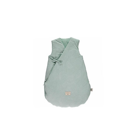 "Schlafsack ""Cloud White Bubble / Aqua"""