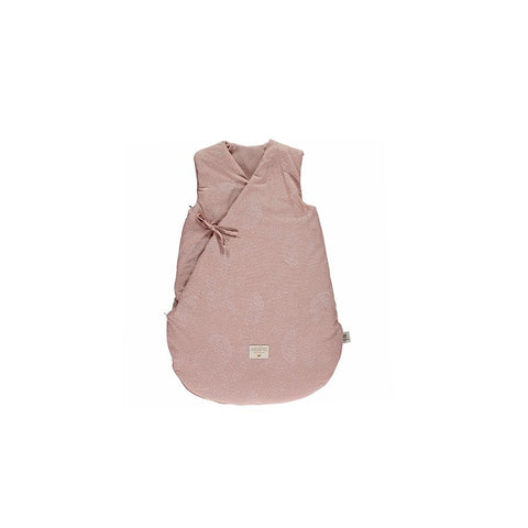 "Schlafsack ""Cloud White Bubble / Misty Pink"""