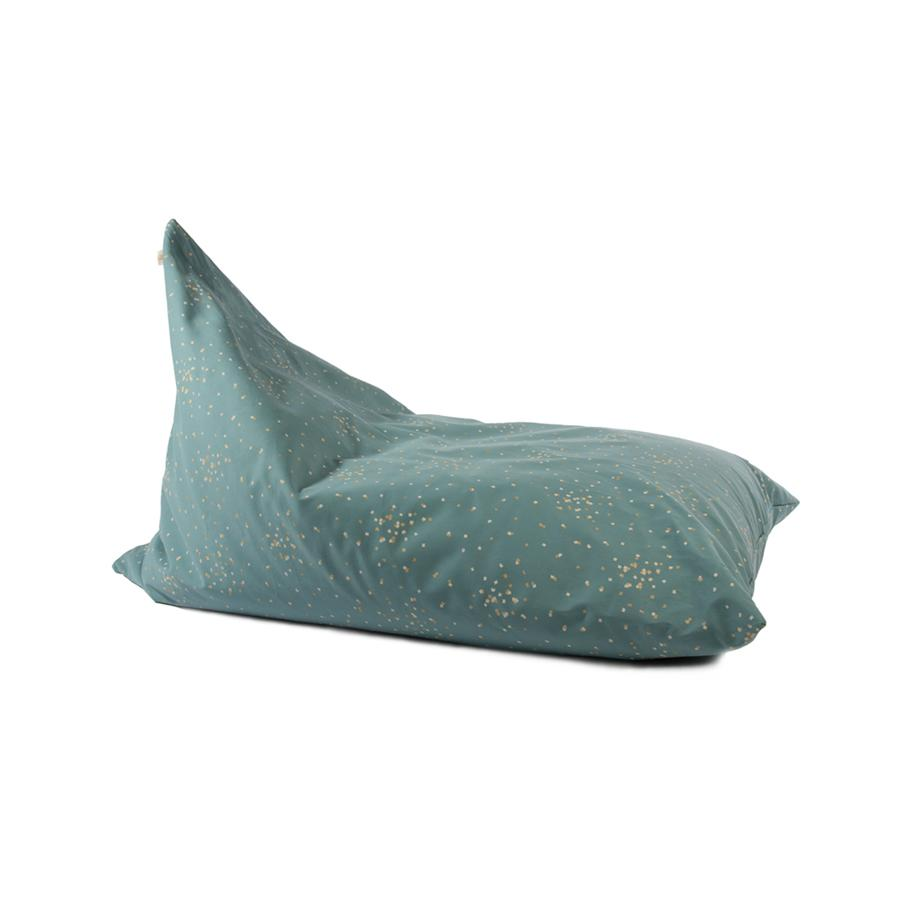 "Sitzsack ""Essaouira Gold Confetti / Magic Green"""
