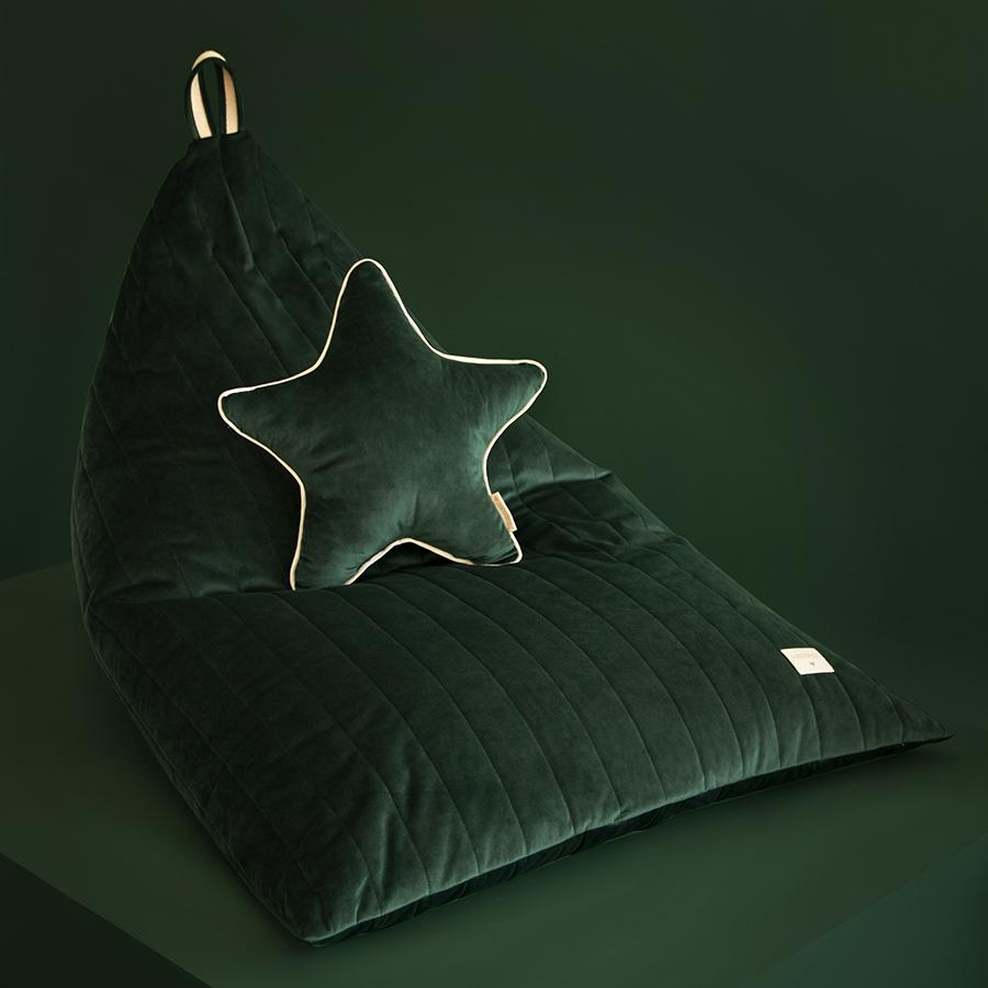 "Sitzsack ""Savanna Velvet Essaouira Jungle Green"""