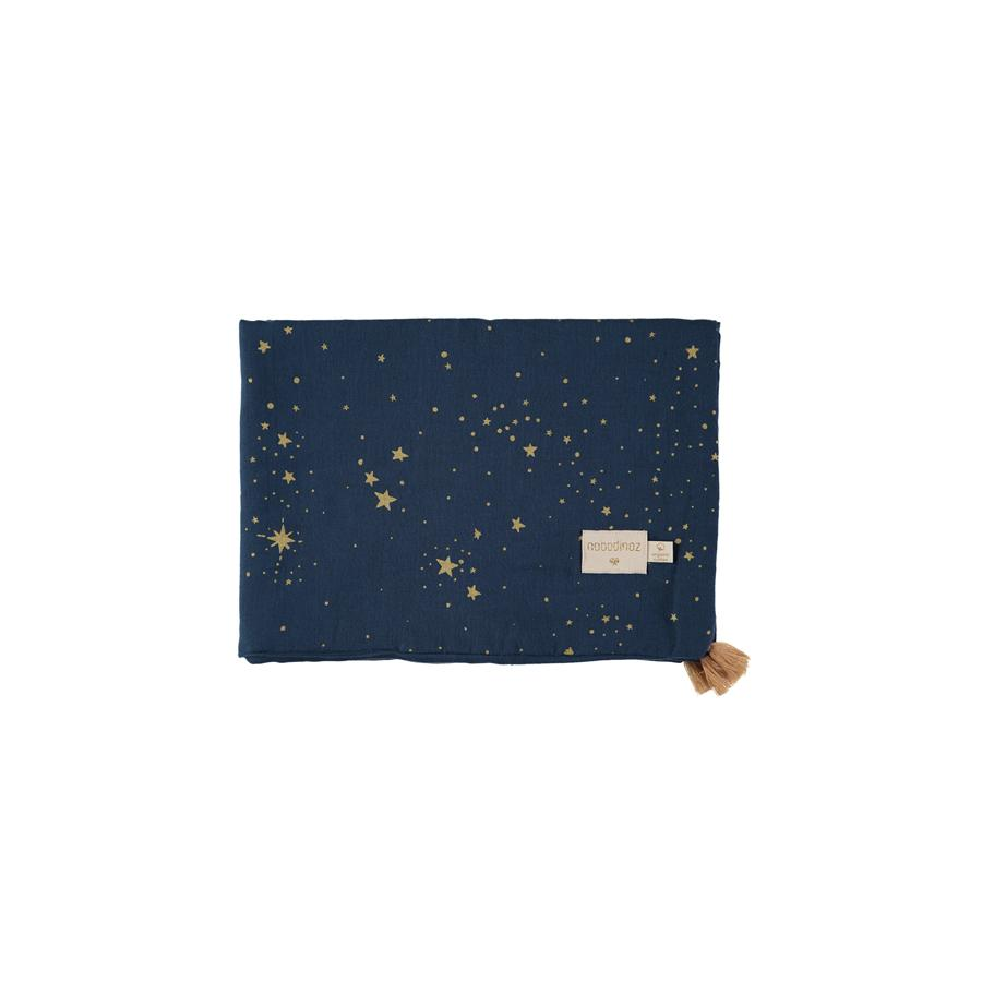 "Babydecke ""Treasure Gold Stella Night Blue"""
