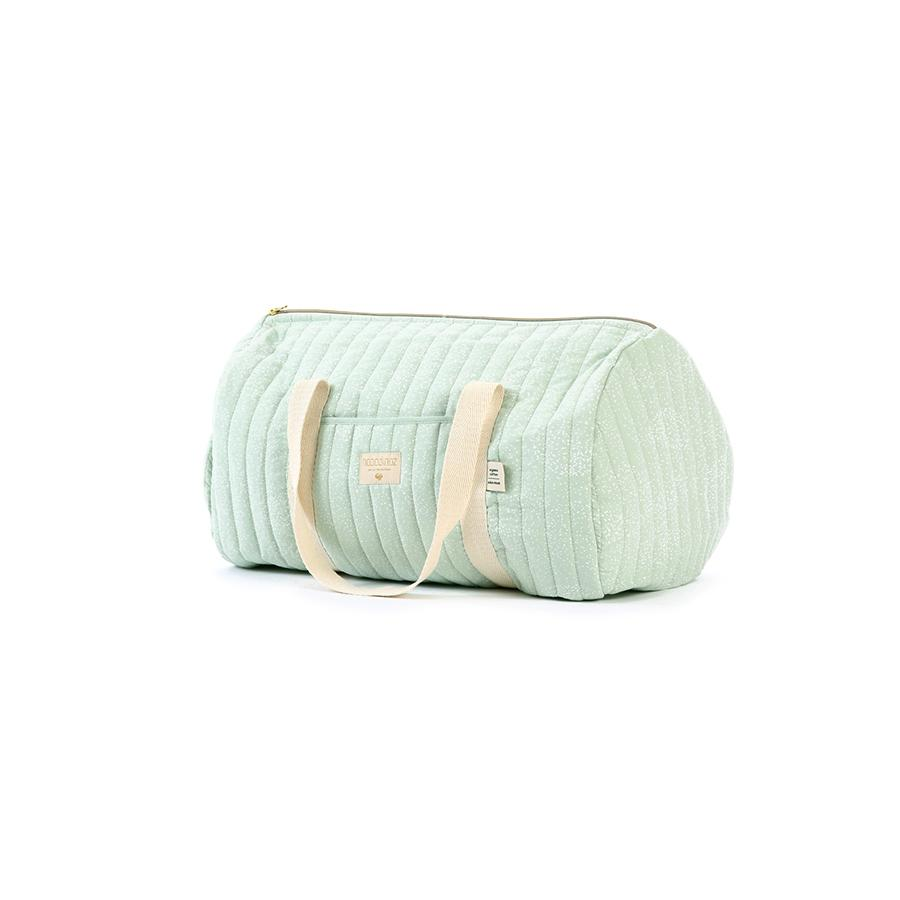 "Weekend-Tasche ""New York White Bubble / Aqua"""