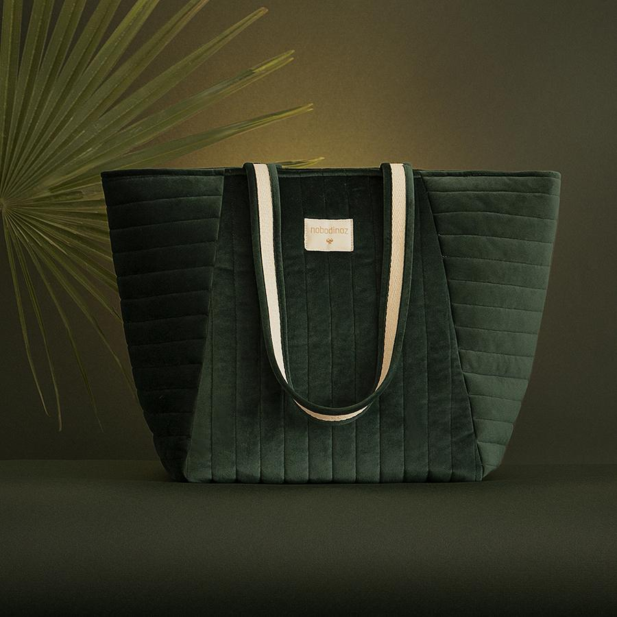 "Wickeltasche ""Savanna Velvet Jungle Green"""