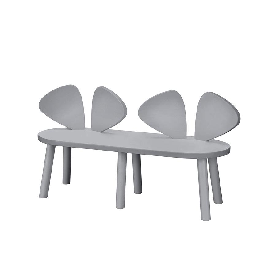 "Nofred Kinderbank  ""Mouse Bench Grey"" - kyddo"