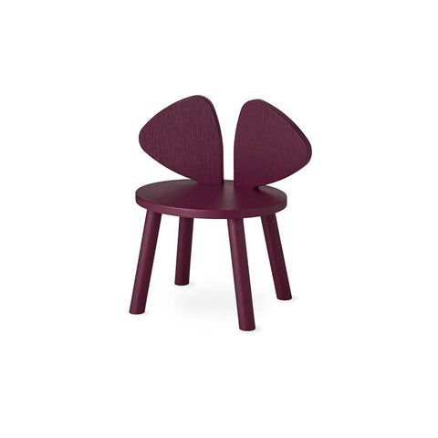 "Kinderstuhl  ""Mouse Chair Burgundy"""