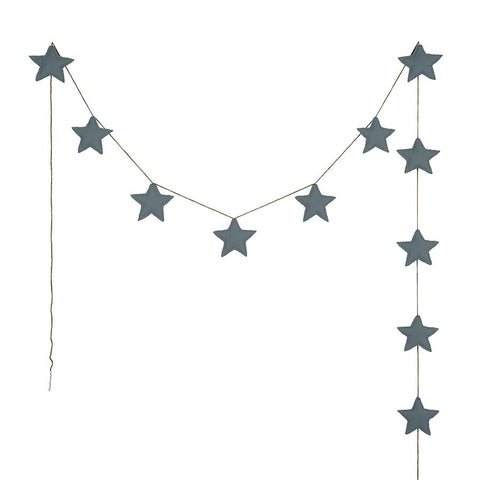 "Girlande ""Mini Star Ice Blue"""
