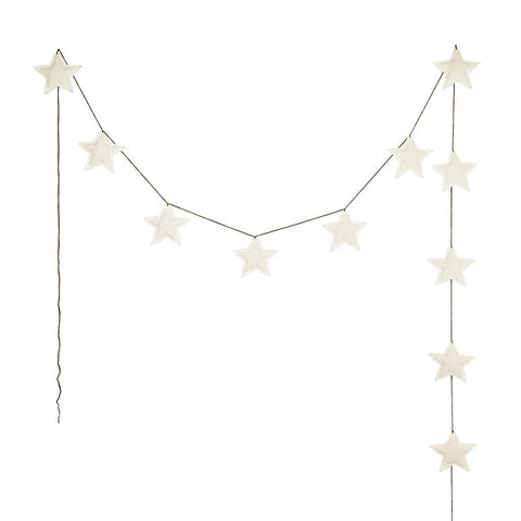 "Girlande ""Mini Star Natural"""