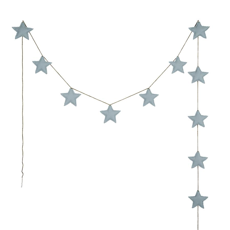 "Girlande ""Mini Star Sweet Blue"""