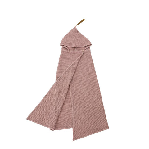 "Handtuch-Poncho ""Dusty Pink"""