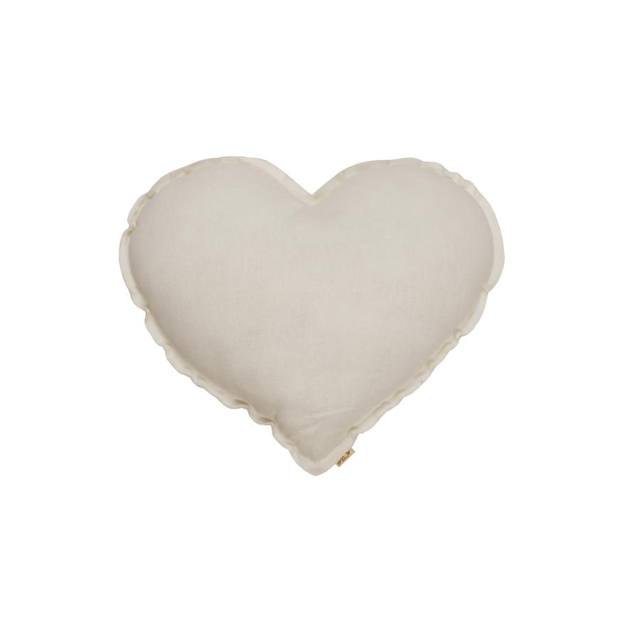 "Kissen ""Heart Natural"""
