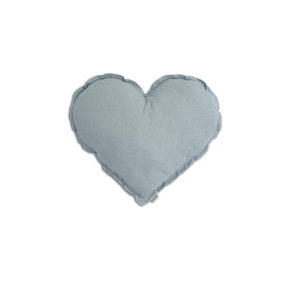 "Kissen ""Heart Sweet Blue"""