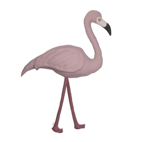 "Kissen ""Polly Flamingo Dusty Pink"""