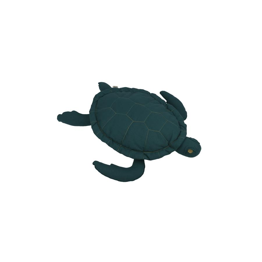 "Kissen ""Samy Turtle Teal Blue"""