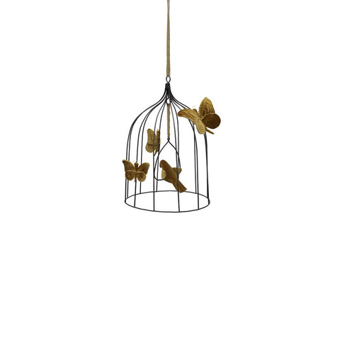 "Mobile ""Bohemian Bird Cage Gold"" medium"