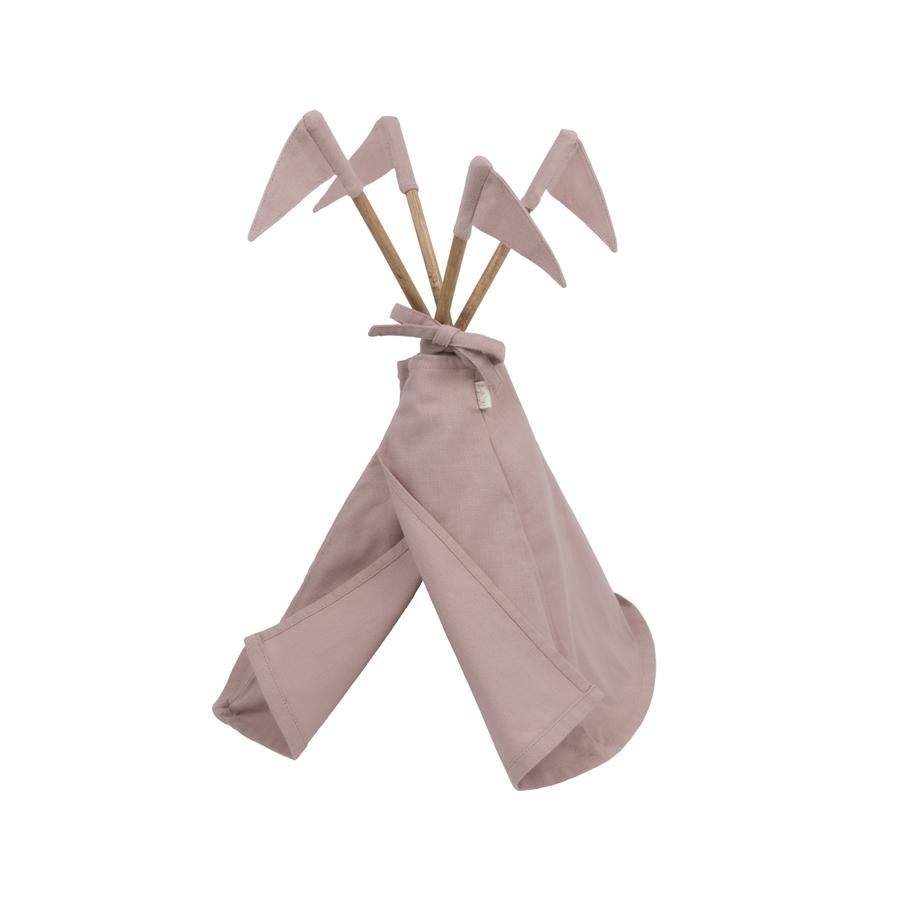 "Puppen-Tipi ""Dusty Pink"""