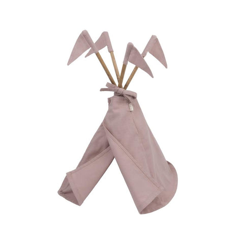 "Puppen-Tipi ""Dusty Pink"" Small-Serie"