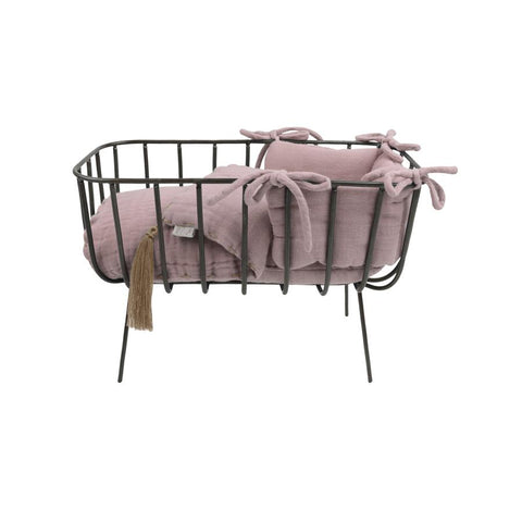 "Puppengitterbett ""Dusty Pink"""