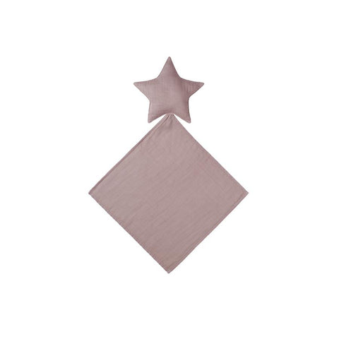 "Schmusetuch ""Lovey Star Doudou Dusty Pink"""
