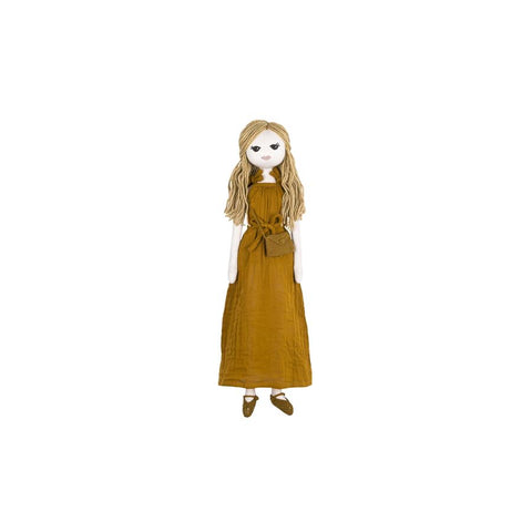 "Stoffpuppe ""Lea Mum Doll Gold"""
