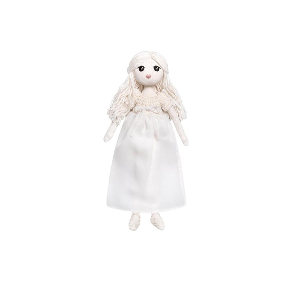 "Stoffpuppe ""Stella Moon Girl White"""
