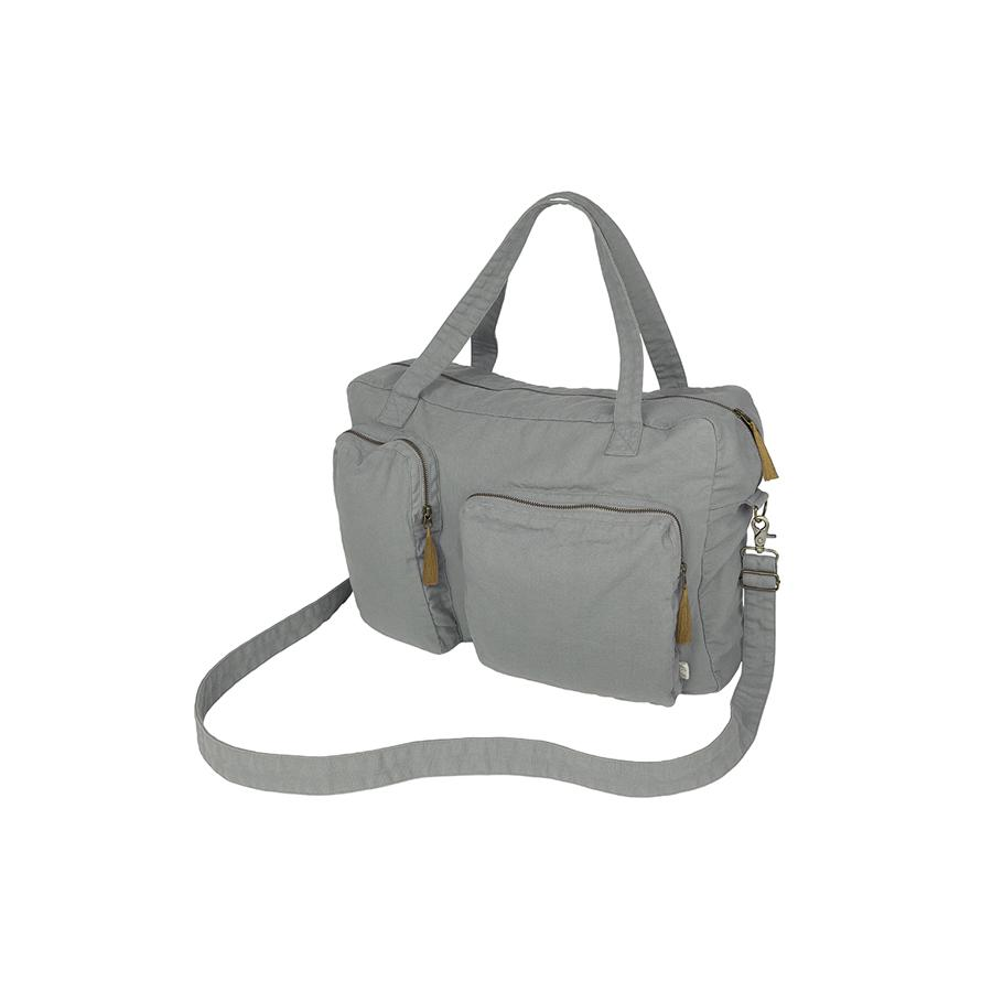 "Weekend-Tasche ""Silver Grey"""