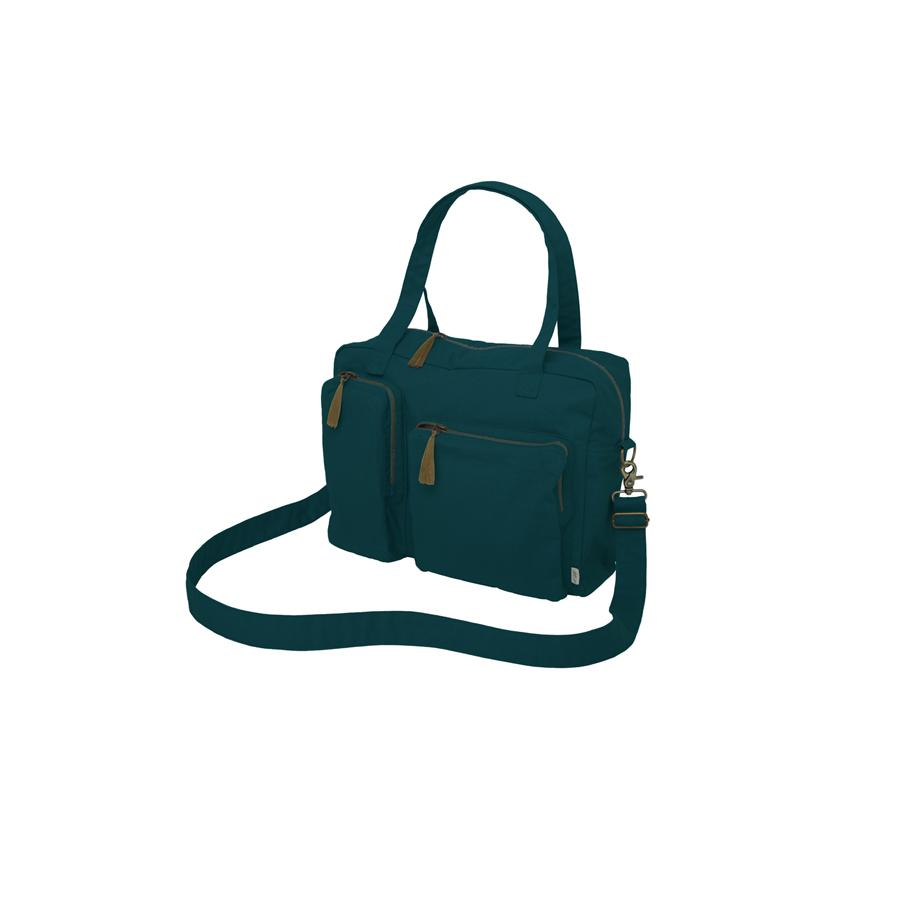 "Wickeltasche ""Teal Blue"""