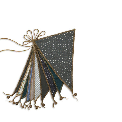 "Wimpelkette ""Bunting Mix Blue"""
