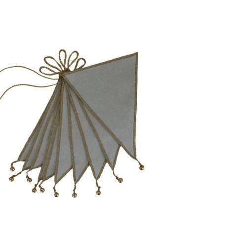 "Wimpelkette ""Bunting Silver Grey"""