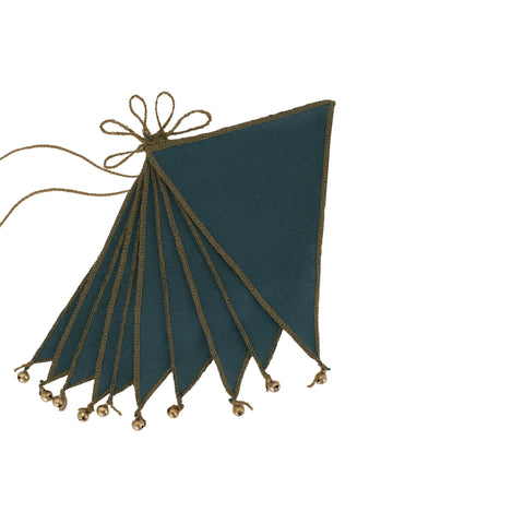 "Wimpelkette ""Bunting Teal Blue"""