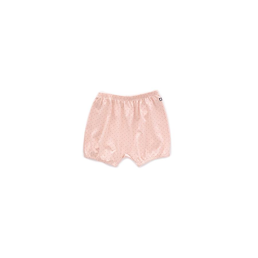 "Bubble Shorts ""Light Pink / Rust Dots"""