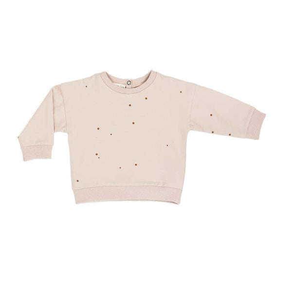 "Baby-Sweatpullover ""Dots Shell"""