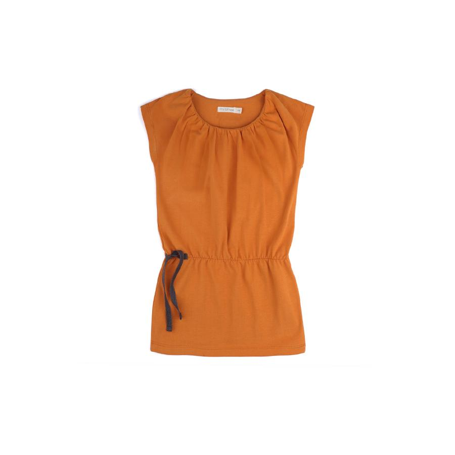 "Blouson-Kleid ""Gathered Tangerine"""