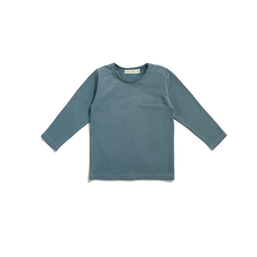 "Langarm-Shirt ""Pocket Balsam Blue"""