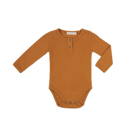 "Langarm-Body ""Gold Ochre"""