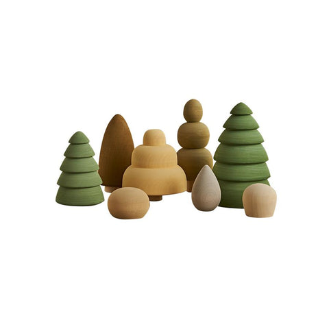 "Holzbausteine ""Forest Set Vol. 2 Summer"""