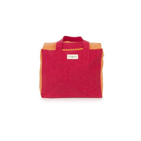 "Weekend Bag ""Celestins the 24h Bag Grenade Red / Orange Coral"""