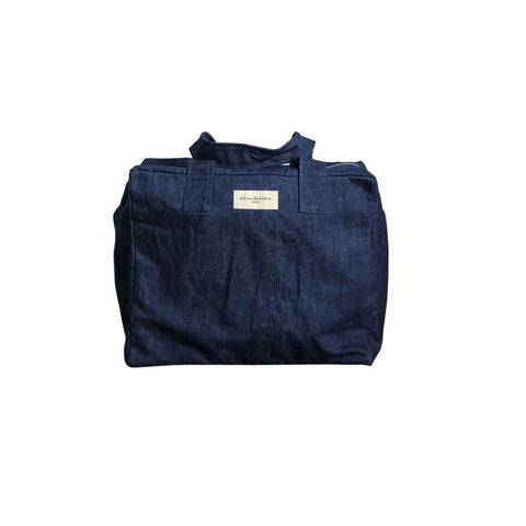 "Weekend Bag ""Celestins Denim Raw """