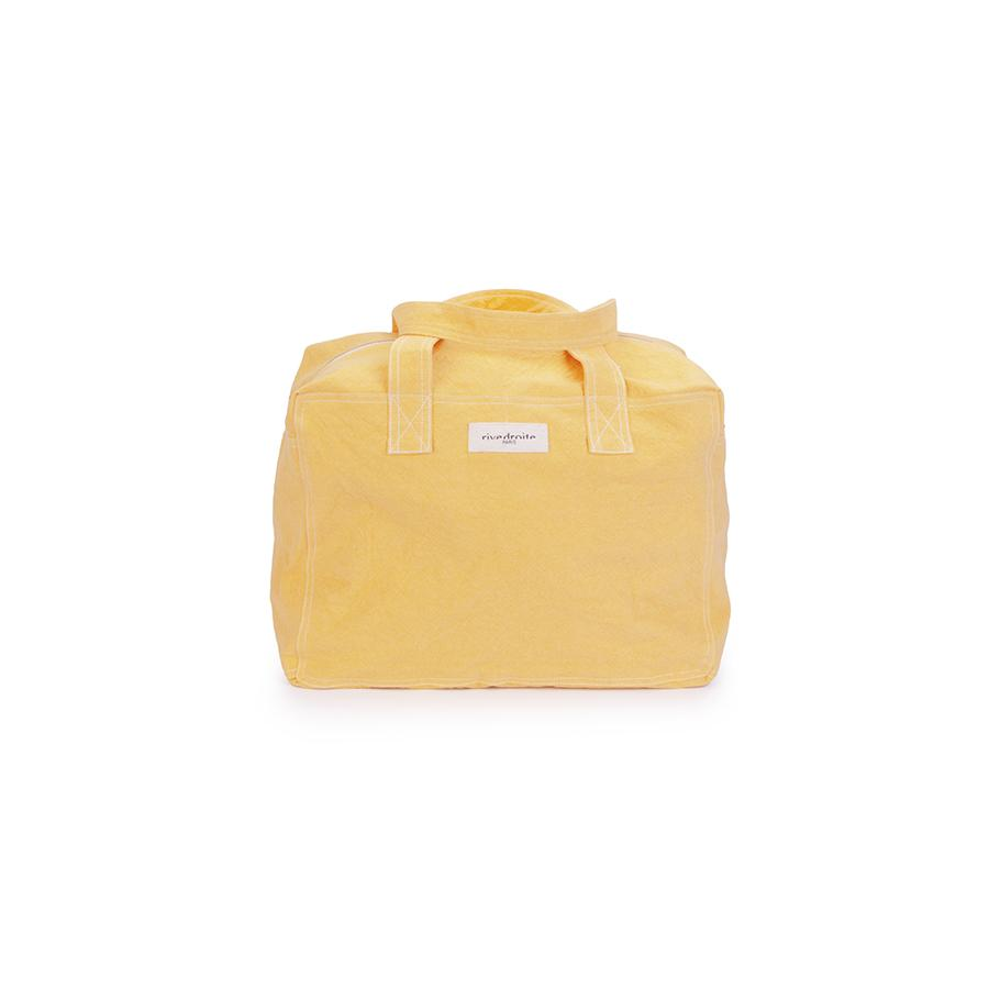 "Weekend Bag ""Celestins the 24h Bag Yellow Golden Latte"""