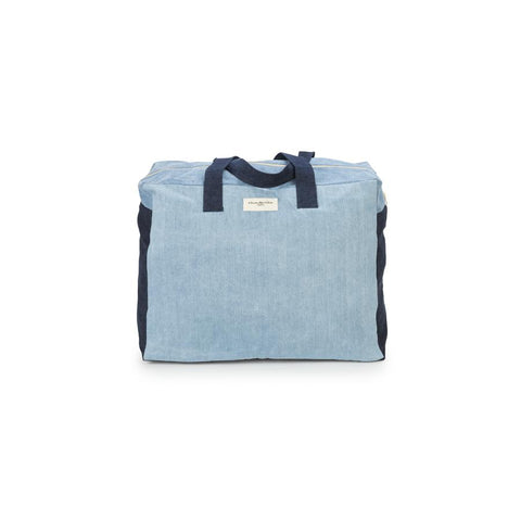 "Weekend Bag ""Elzevir Denim Patchwork"""