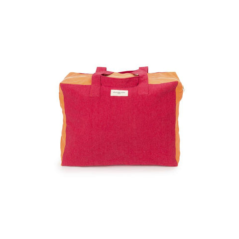 "Weekend Bag ""Elzevir Grenade Red / Orange Coral"