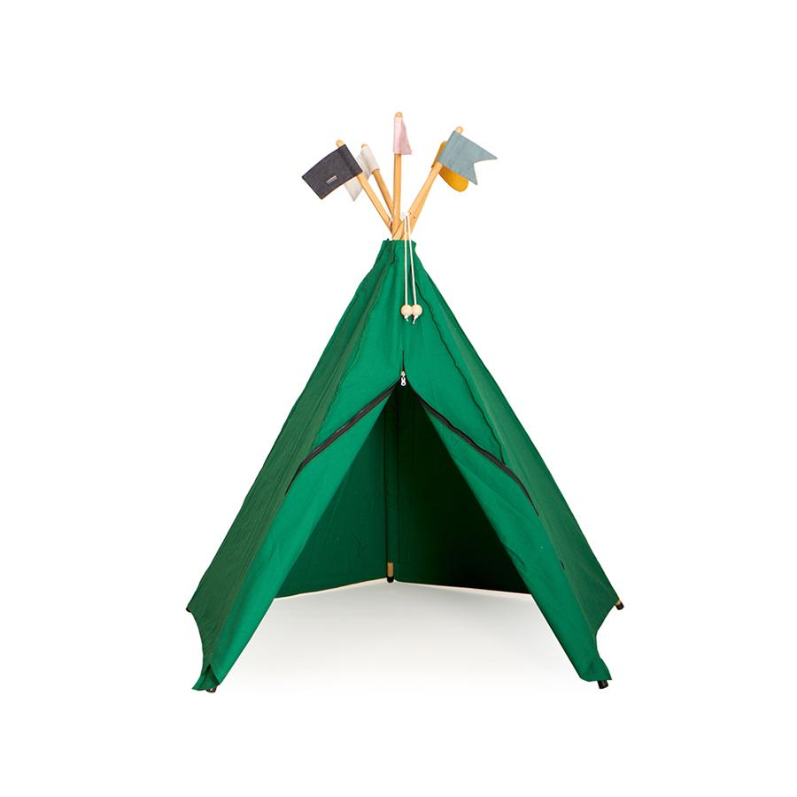 "Tipi ""Hippie Green"""