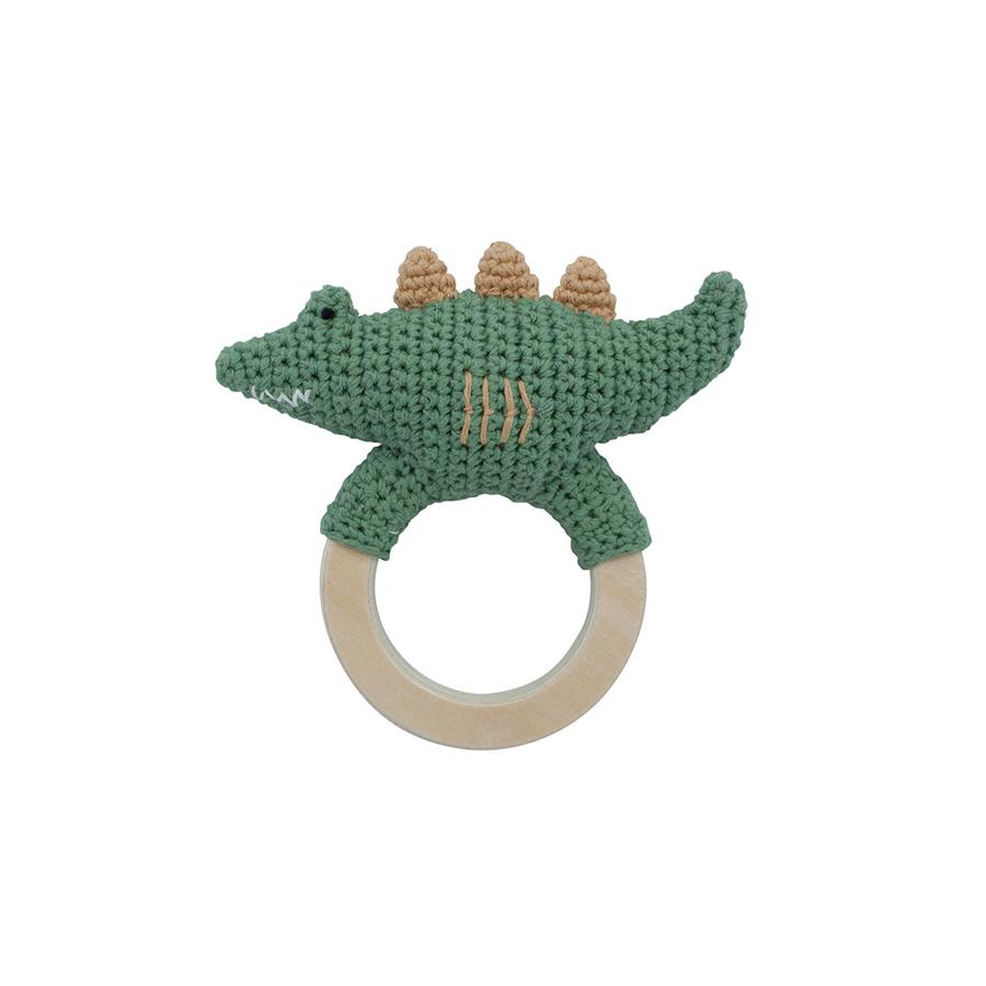 "Babyrassel ""Crochet Ali On Ring Moss Green"""