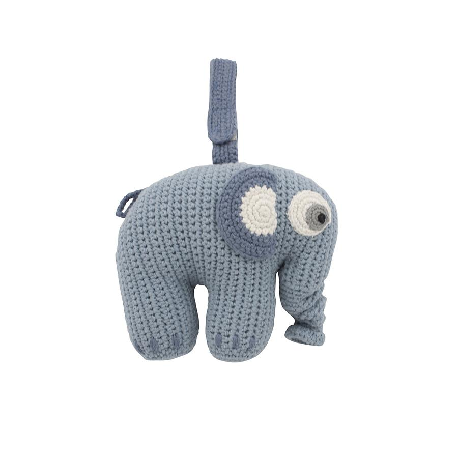"Mobile ""Fanto the Elephant Powder Blue"" mit Musik"