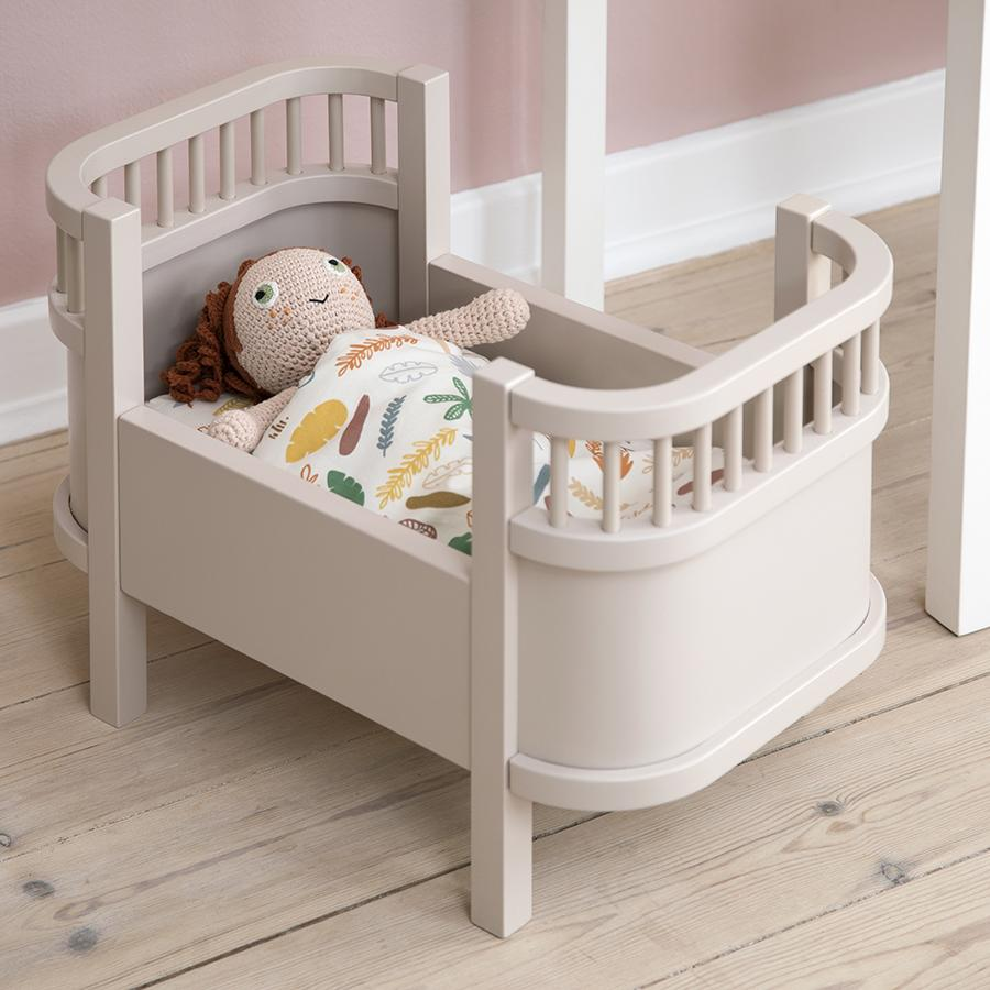 "Puppenbett ""The Sebra Dolls Bed Dusty Pink"""