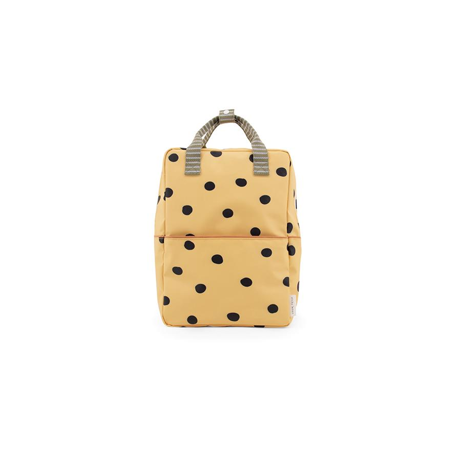 "Rucksack ""Large Backpack Freckles / Special Edition / Retro Yellow"""