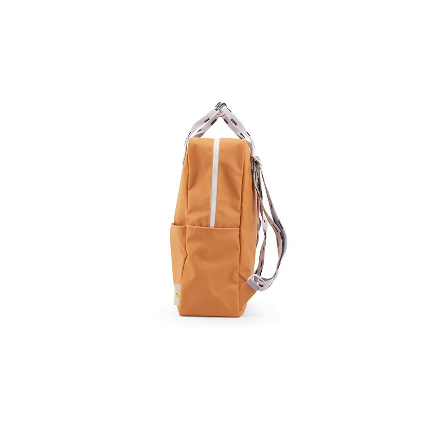 "Rucksack ""Large Backpack Sprinkles / Apricot Orange / Lavender"""