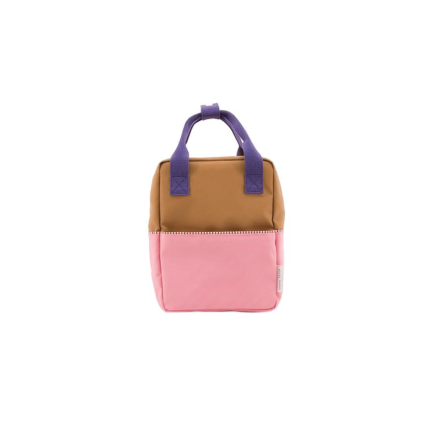 "Rucksack ""Small Backpack Colourblocking Panache Gold"""