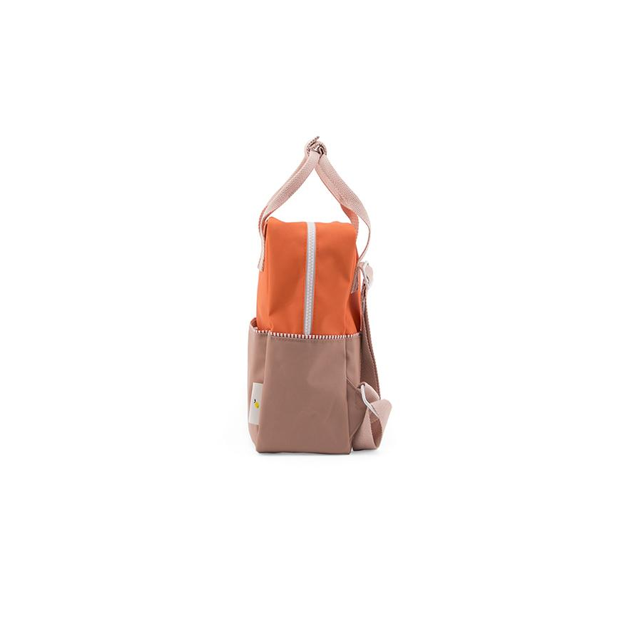 "Rucksack ""Small Backpack Colourblocking Royal Orange"""