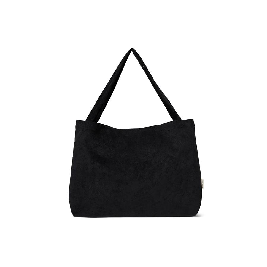 "Muttertasche ""All Black Rib"""