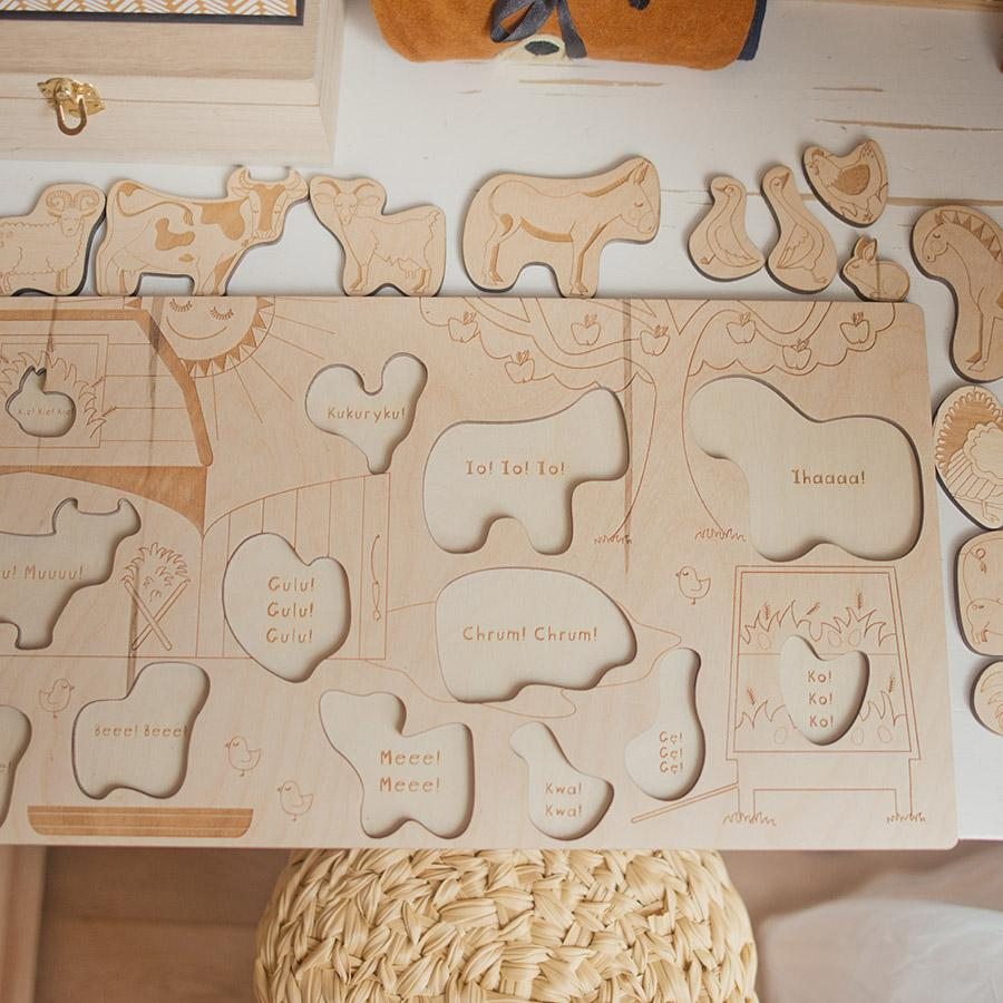 "Holzpuzzle ""Country Life"""
